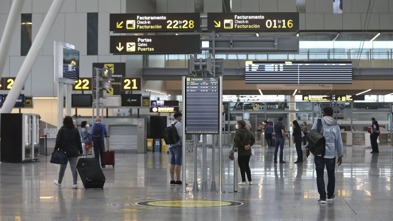 El aeropuerto de Santiago