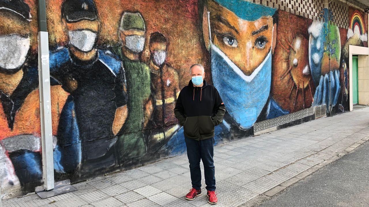 San Xoán en el Pantalán de Oza.Primer concierto tras el confinamiento por la pandemia del coronavirus en el Museo de Belas Artes de A Coruña