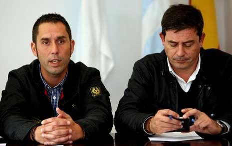 El diputado Val Alonso y Gómez Besteiro, juntos en una imagen de archivo.