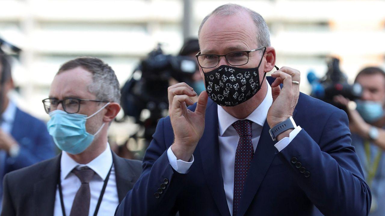 El ministro irlandés de Asuntos Exteriores, Simon Coveney