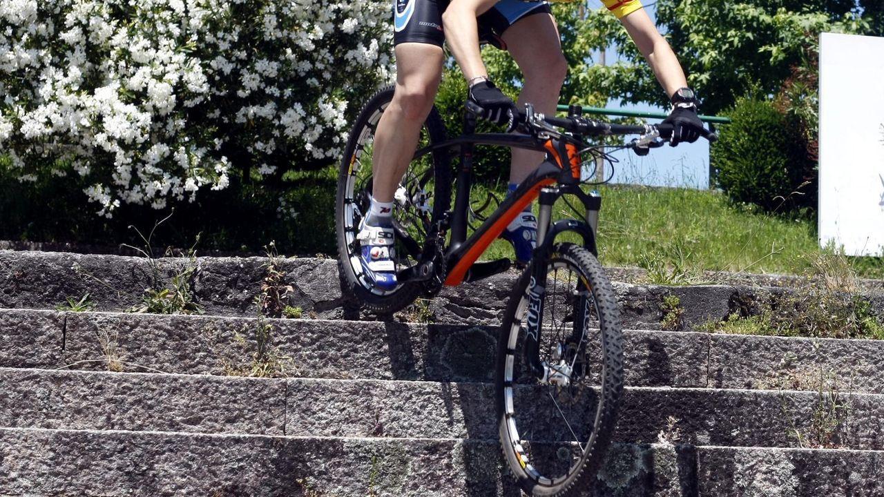 Imagen de archivo de una bicicleta mountain bike