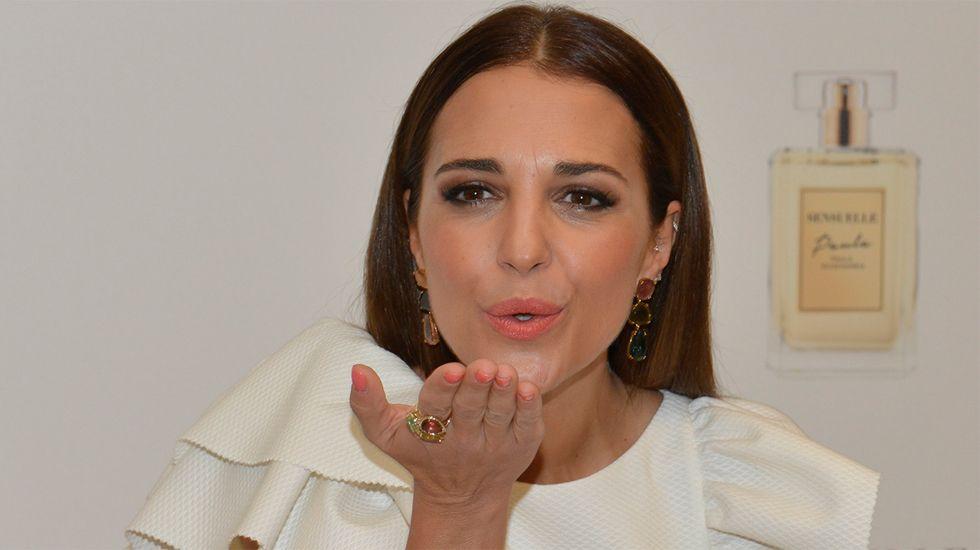 Paula Echevarría en una imagen promocional de su perfume