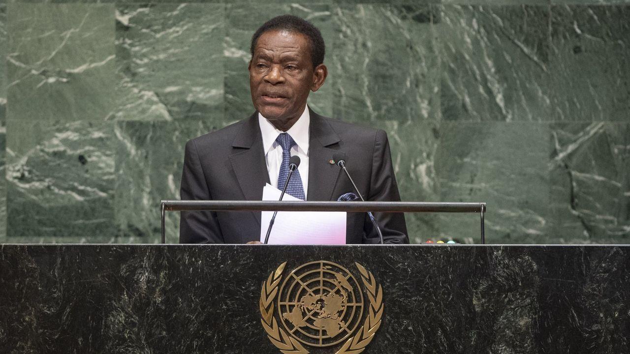E lpresidente de Guinea Ecuatorial celebra 40 años al frente del país