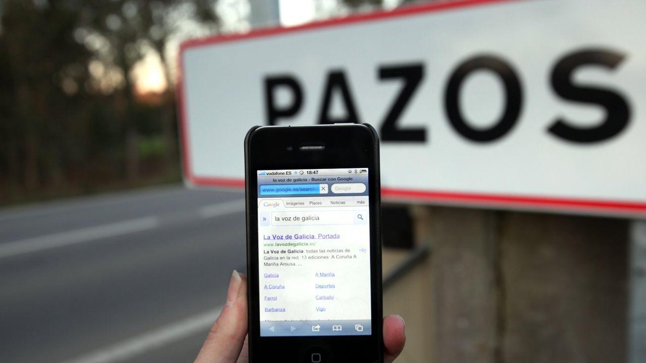 En Pazos, por ejemplo, se dieron problemas con la cobertura 3G