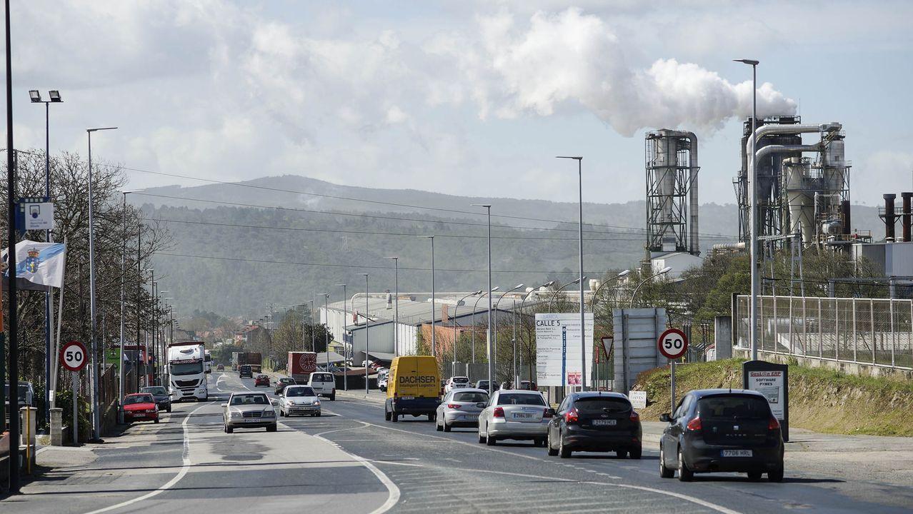 El alcalde de Ourense, Gonzalo Pérez Jácome, opina sobre la evolución del coronavirus.La actividad industrial en polígonos como el de San Cibrao se ha reducido notablemente