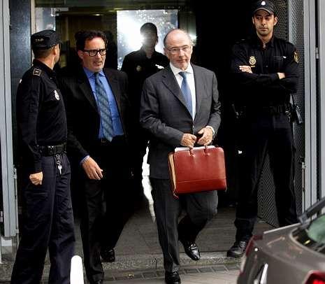 Rato y Blesa declararon el jueves en la Audiencia Nacional.