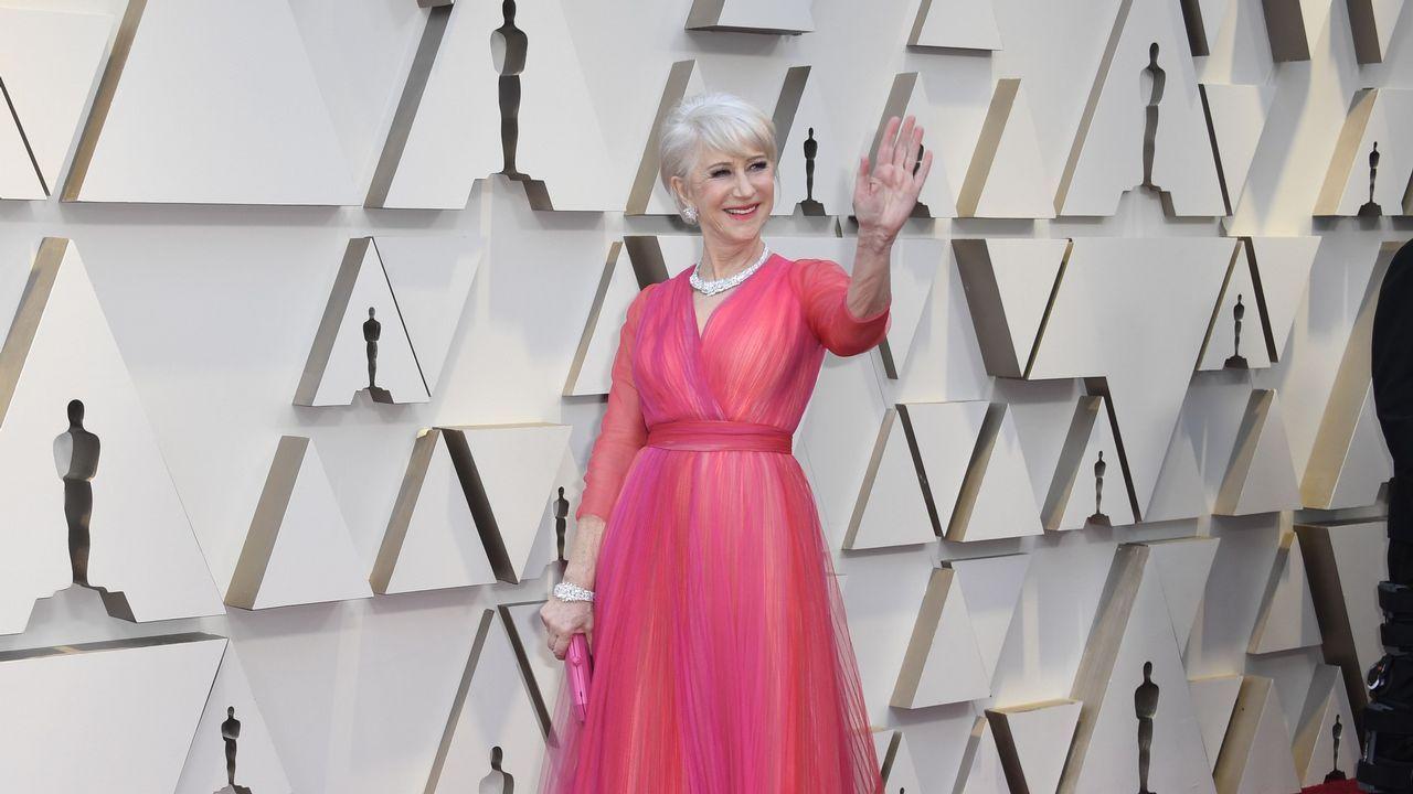 La actriz británica Helen Mirren