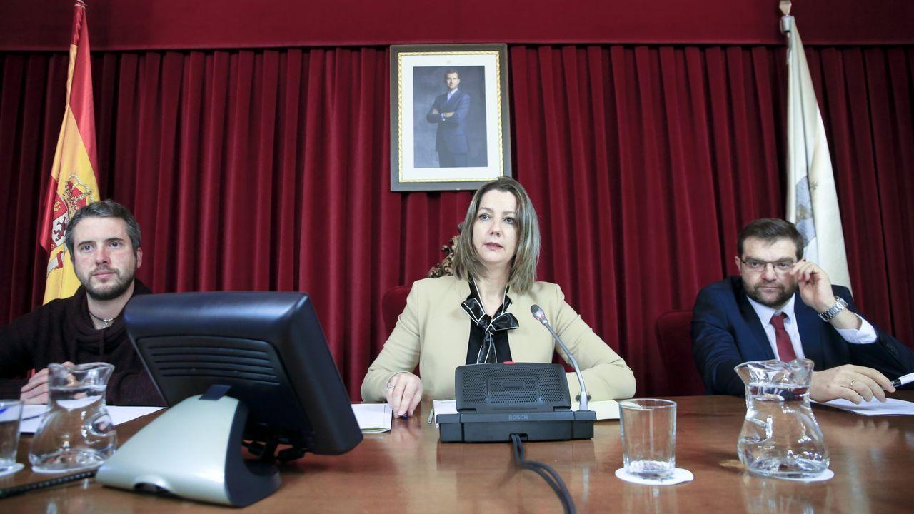 Foto de archivo de un pleno en el Concello de Lugo