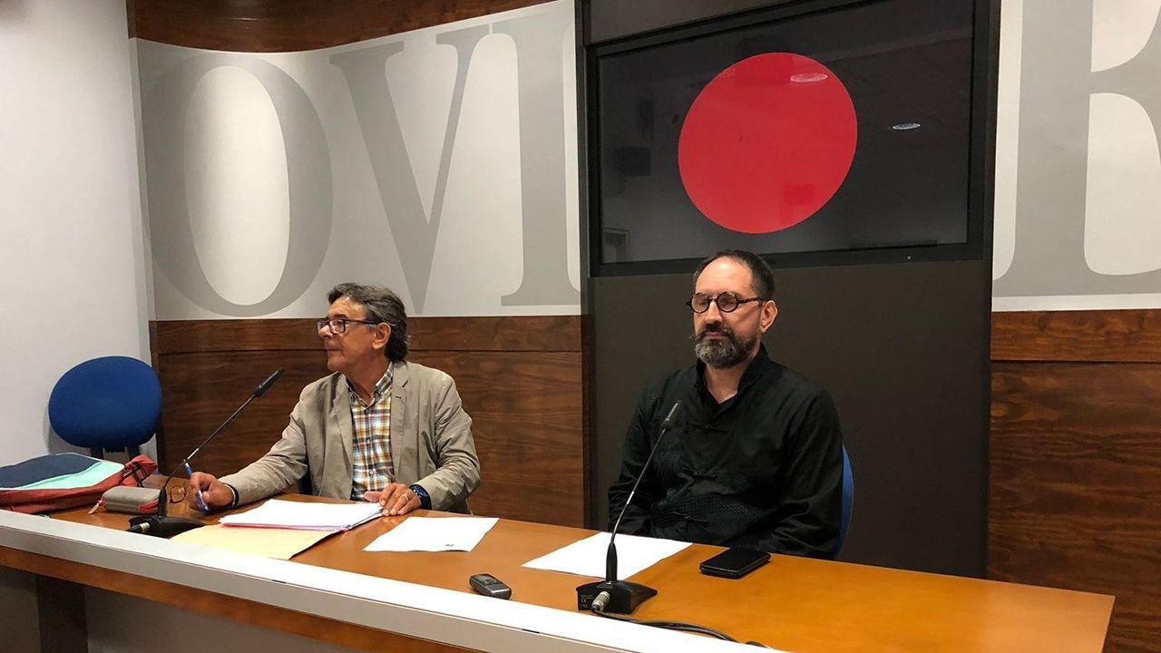 Roberto Sánchez Ramos y Paco Cao