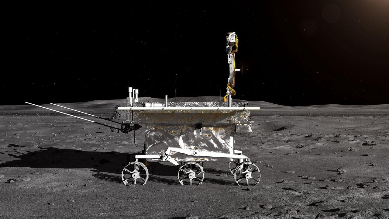 Vehículo lunar de la sonda lunar Chang'e-4
