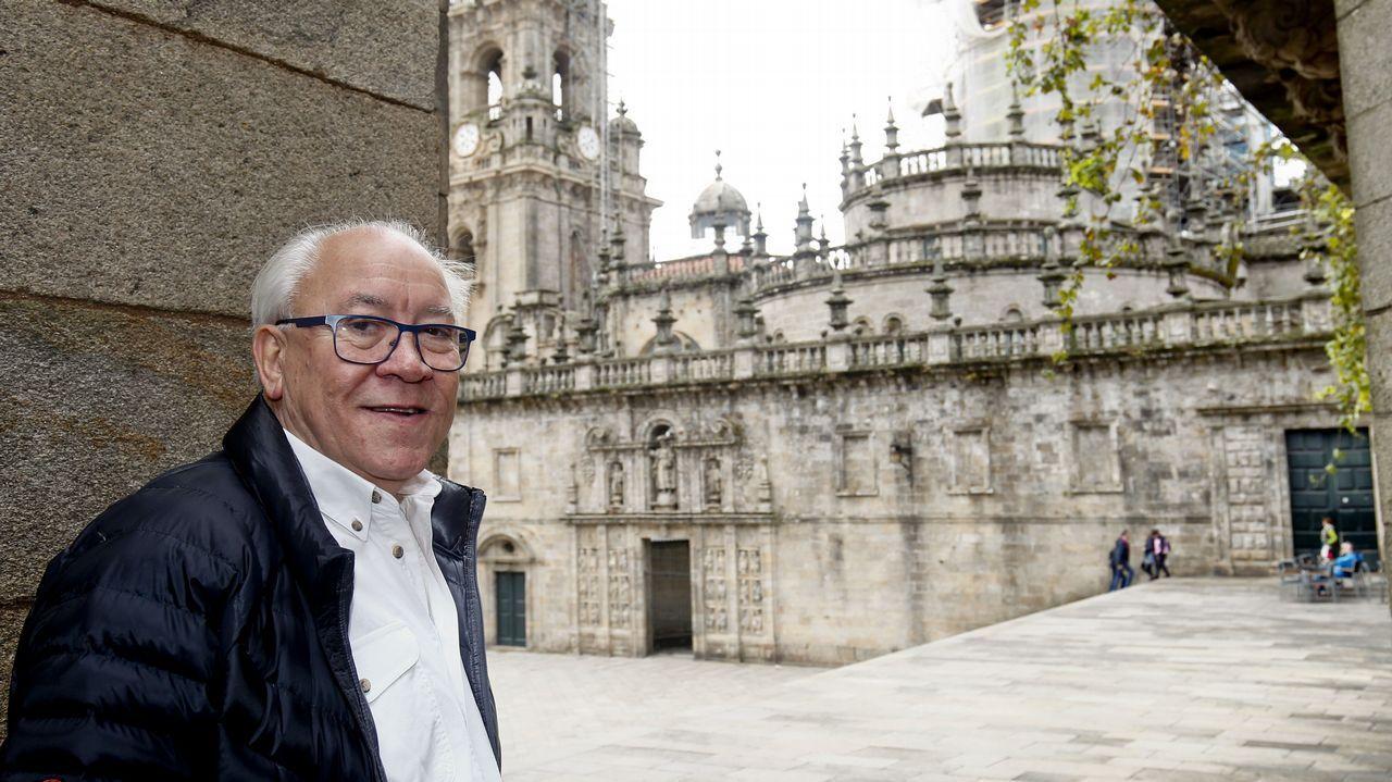 Galicia se convierte en una postal de Navidad