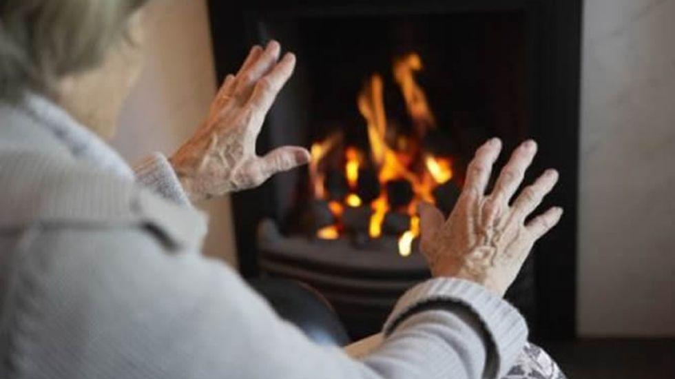 La crudeza del fuego asturiano en imágenes.Pobreza energética