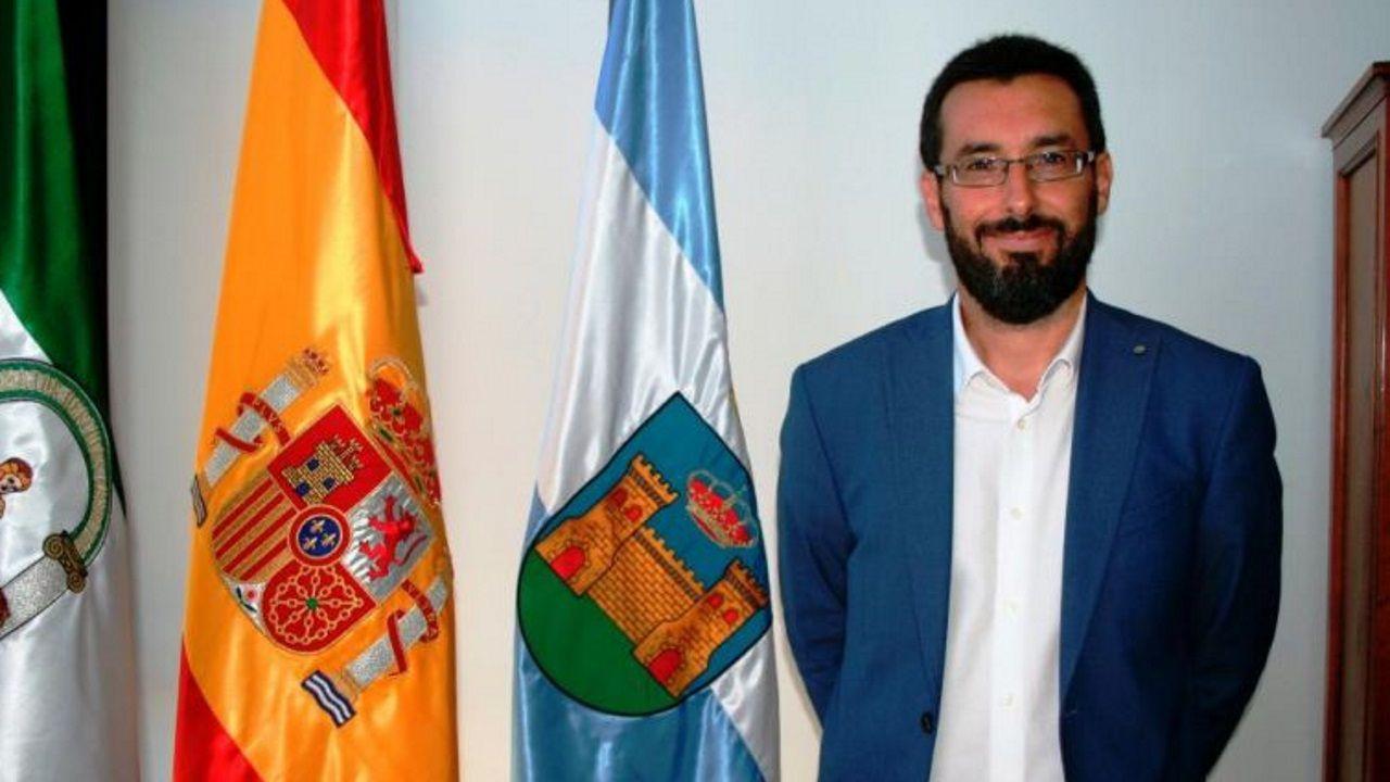 José Juan Franco, alcalde de la localidad gaditana de La  Línea de la Concepción