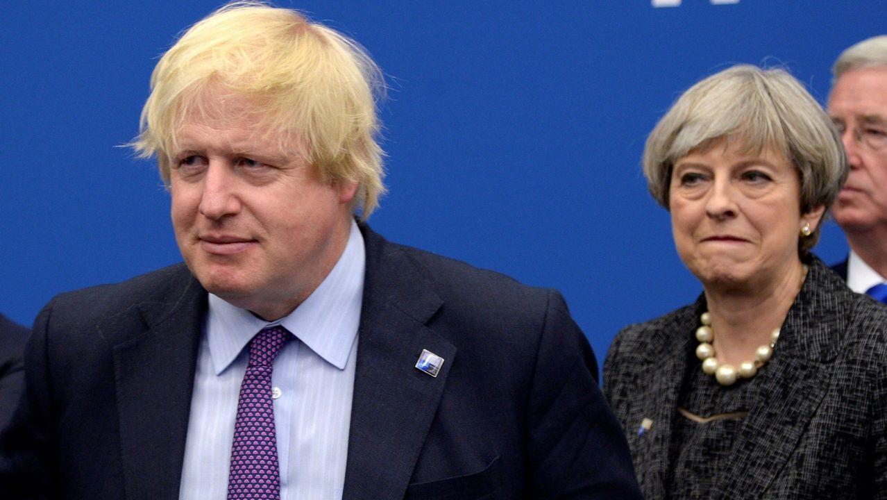 Undiputado «tory» agrede a una activista de Greenpeace.Boris Johnson es el candidato favorito como sustituto de May para ser el jefe de Gobierno británico a finales de julio