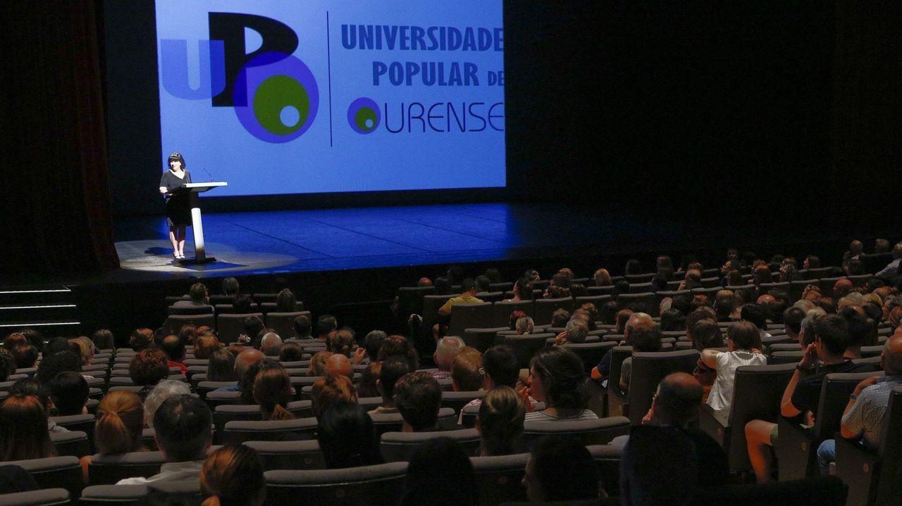 Imagen de archivo de un acto de la Universidade Popular