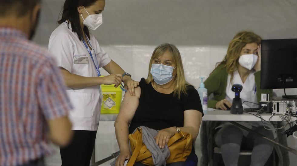 Polos miradoiros da provincia de Ourense.El Paco Paz comenzó a funcionar como centro de vacunación