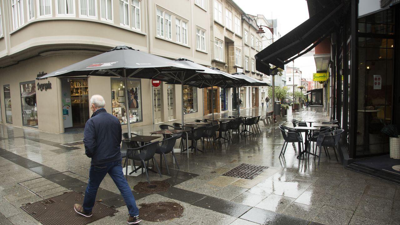 La lluvia fastidió el primer sábado de Carballo en el nivel medio- bajo de restricciones