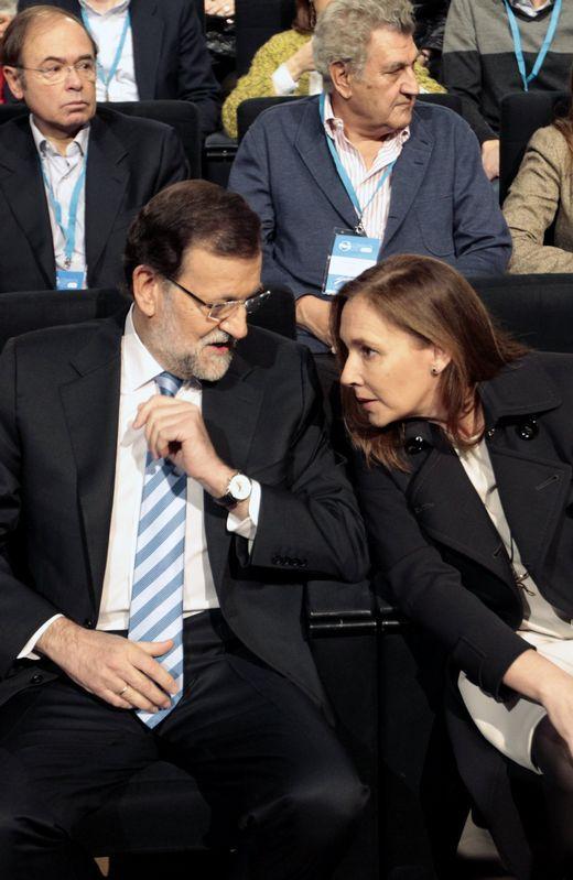 Mariano Rajoy y Viri, su esposa