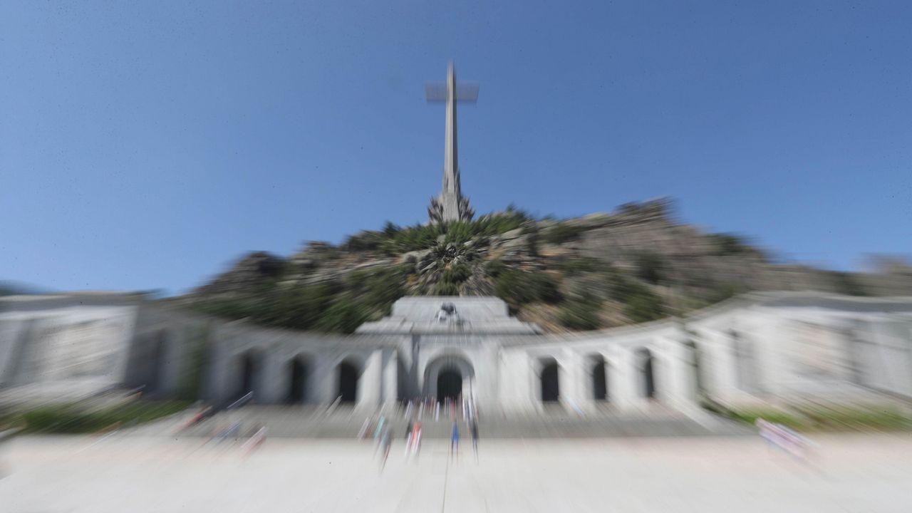 Acuerdo para sacar a Franco del Valle de los Caídos.Valle de los Caidos, en la sierra de Madrid
