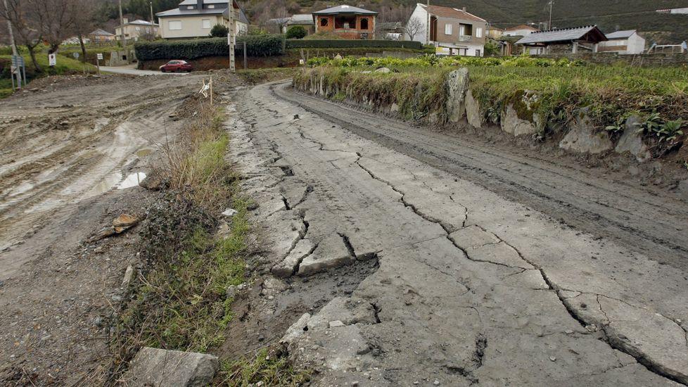 La lluvia y el granizo obligan a adelantar la vendimia para evitar enfermedades.Ya en 2013 hubo protestas por el estado de los viales