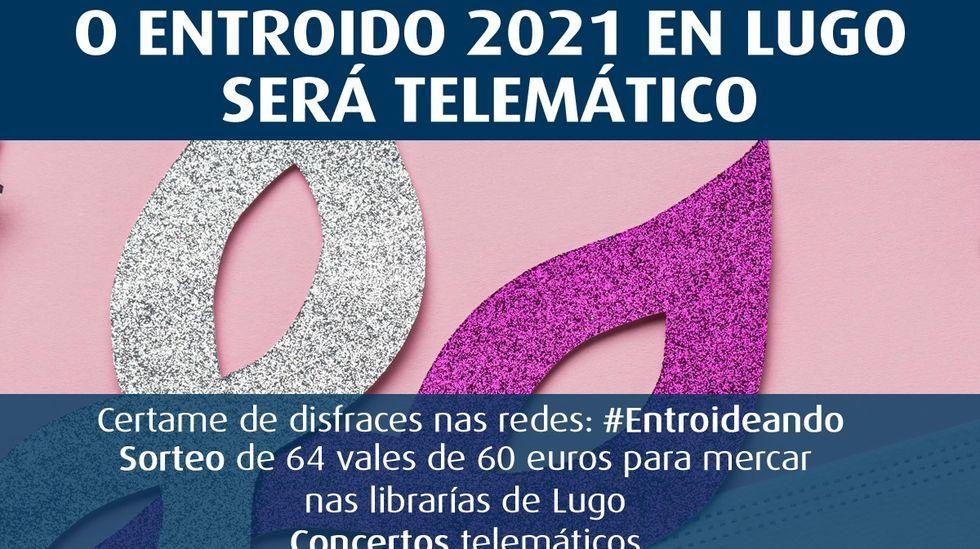 Los vecinos de A Milagrosa denuncian una iluminación deficiente de las calles del barrio.Cartel do Entroido telemático do Concello de Lugo