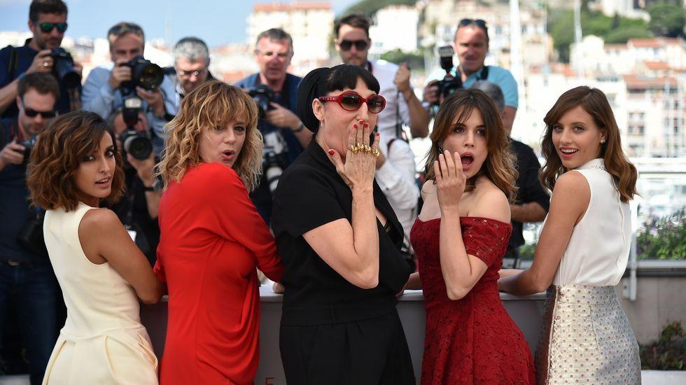 El elenco de «Julieta» se pasea por Cannes