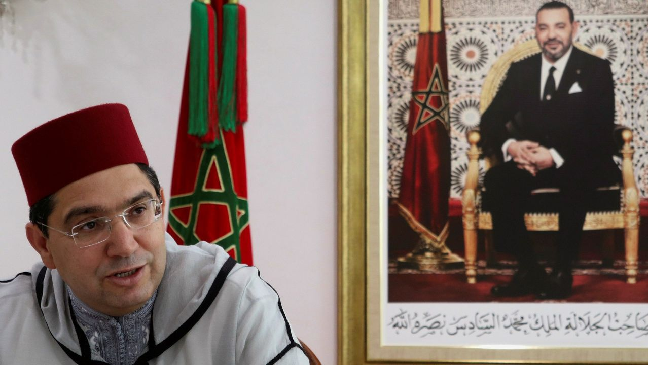 El ministro marroquí de Exteriores, Nasar Burita.