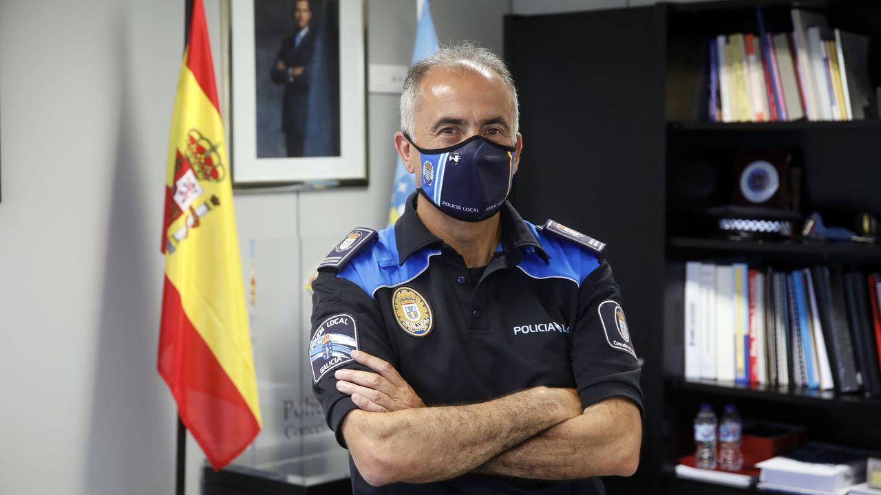 Jesús Piñeiro, jefe de la Policía Local de Lugo