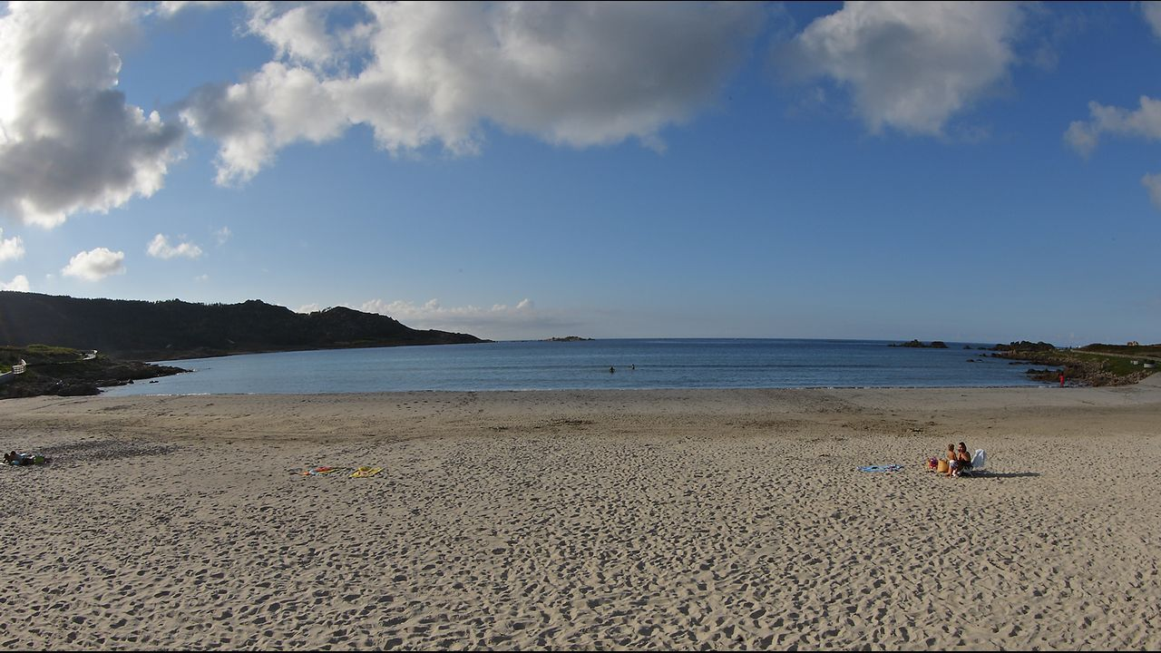 Playa de Arou, en Camariñas