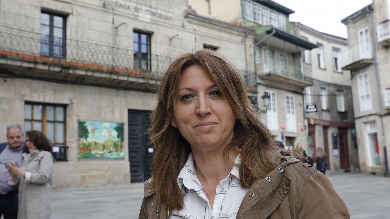 Sergio Maus, candidato a la alcaldía de Vigo por Vox en las elecciones del domingo