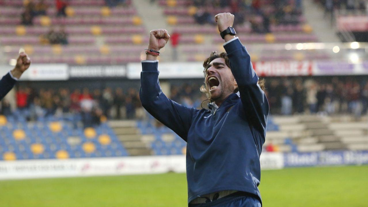 Javi Rozada Real Oviedo Vetusta Requexon.Javi Rozada, durante un entrenamiento del Vetusta