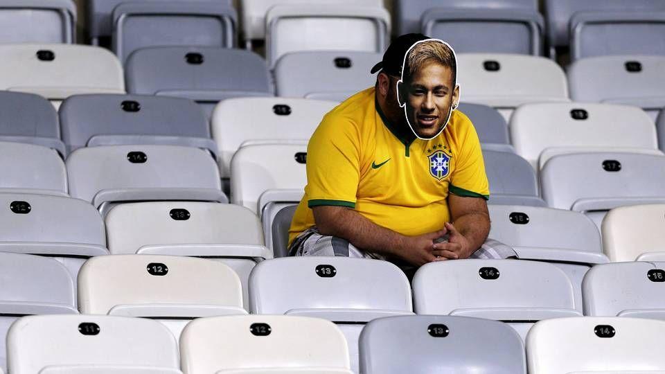 La desolación de Brasil en Belo Horizonte