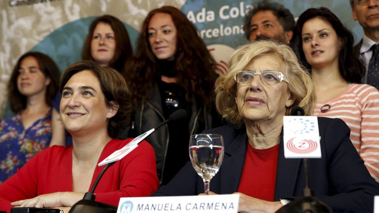 ¡Búscate en la andaina solidaria de Agadeapor el alzheimer!. La líder y portavoz grupo parlamentario de Ciudadanos, Lorena Roldán, se dirige al estrado durante el debate de la moción de censura