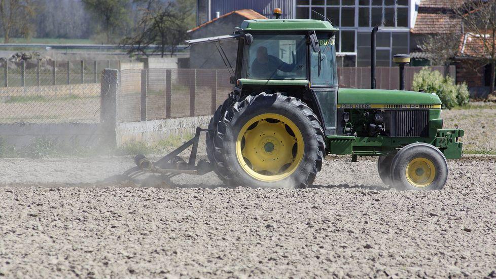 Los agricultores han empezado a preparar la tierra para sembrar el cereal (foto de archivo)