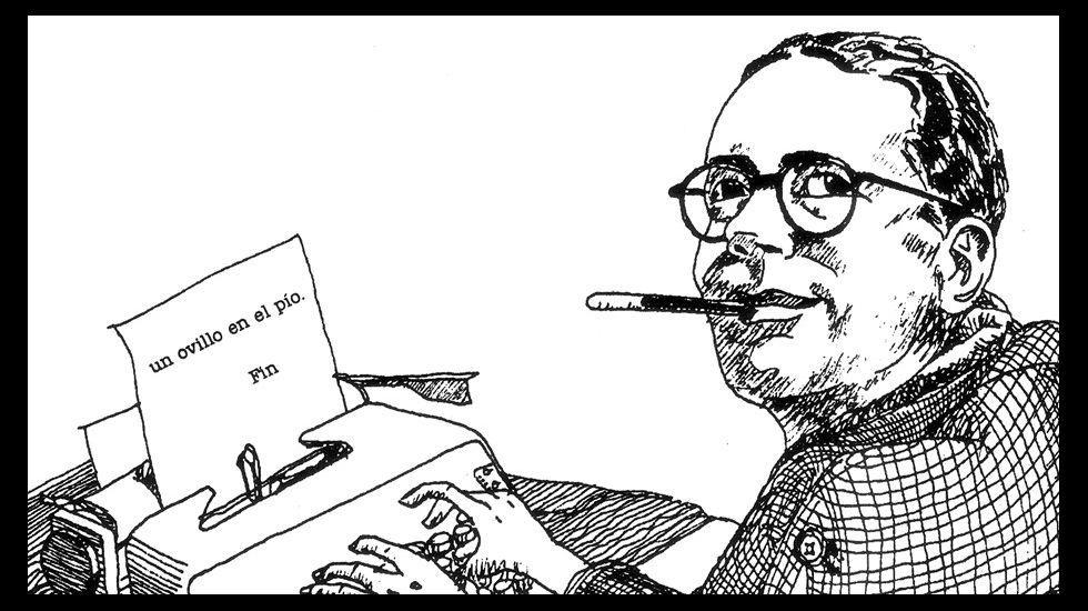 Detalle de una de las ilustraciones de Federico Delicado para el relato de Roald Dahl publicado por Nórdica