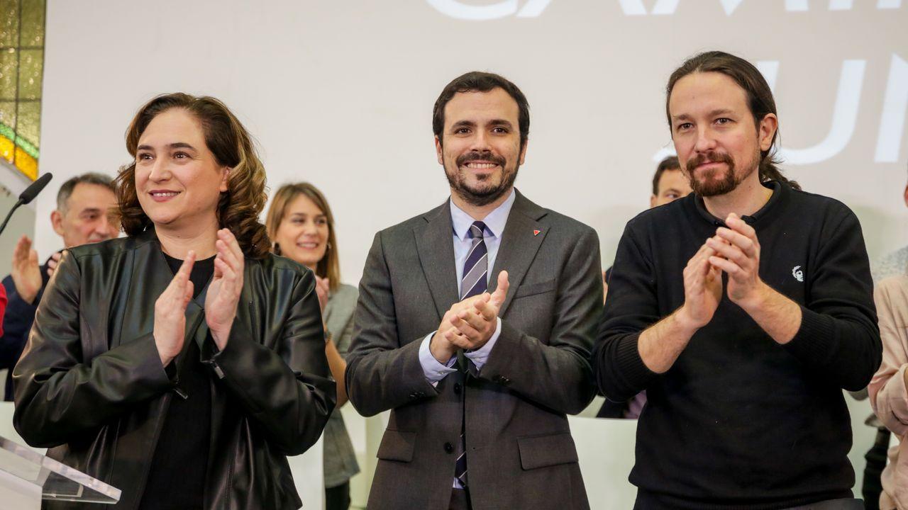 Más unidad, más Unidas Podemos.Ovidio Zapico, en la Junta General