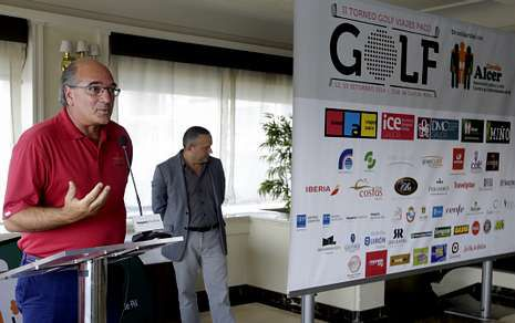 Rajoy: «Los trasplantes permiten que un andaluz viva con el corazón de un catalán».Momento de la presentación del torneo en el Hotel Hesperia Finisterre.