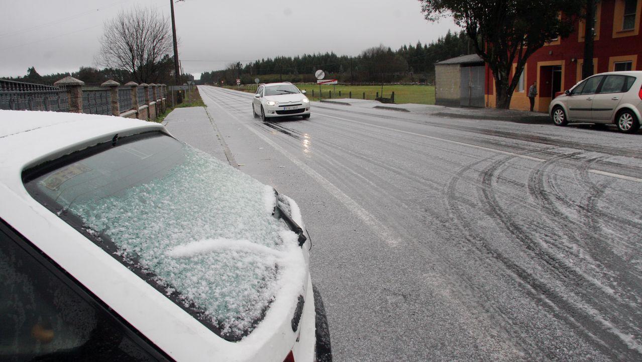 Nieve en Aranga