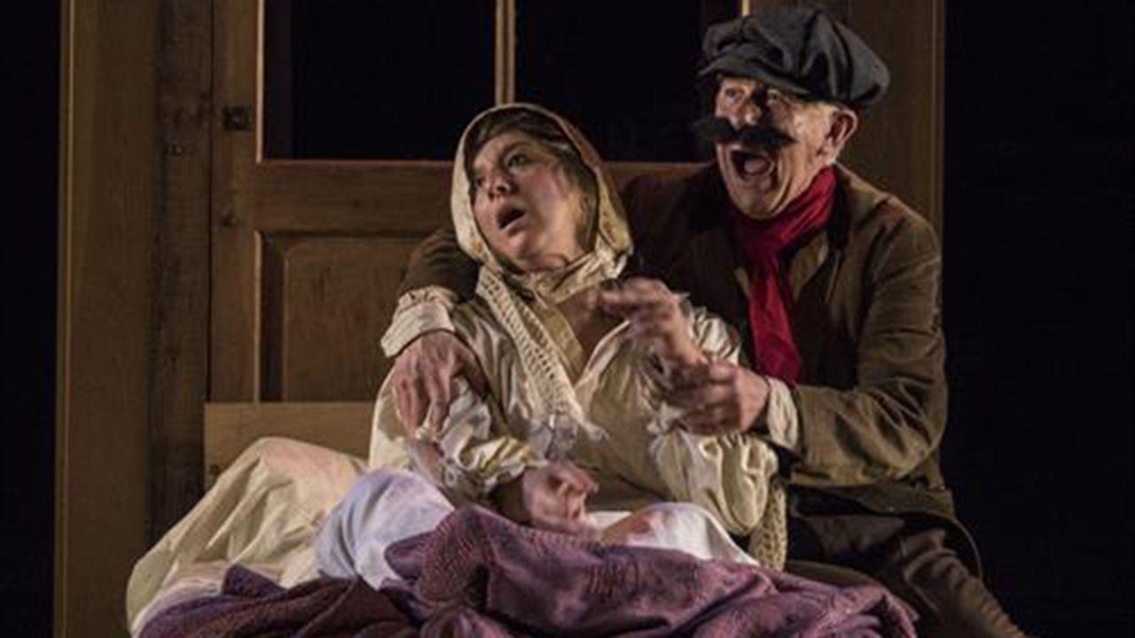 «El retablo de la avaricia, la lujuria y la muerte», de la compañía asturiana Teatro Norte