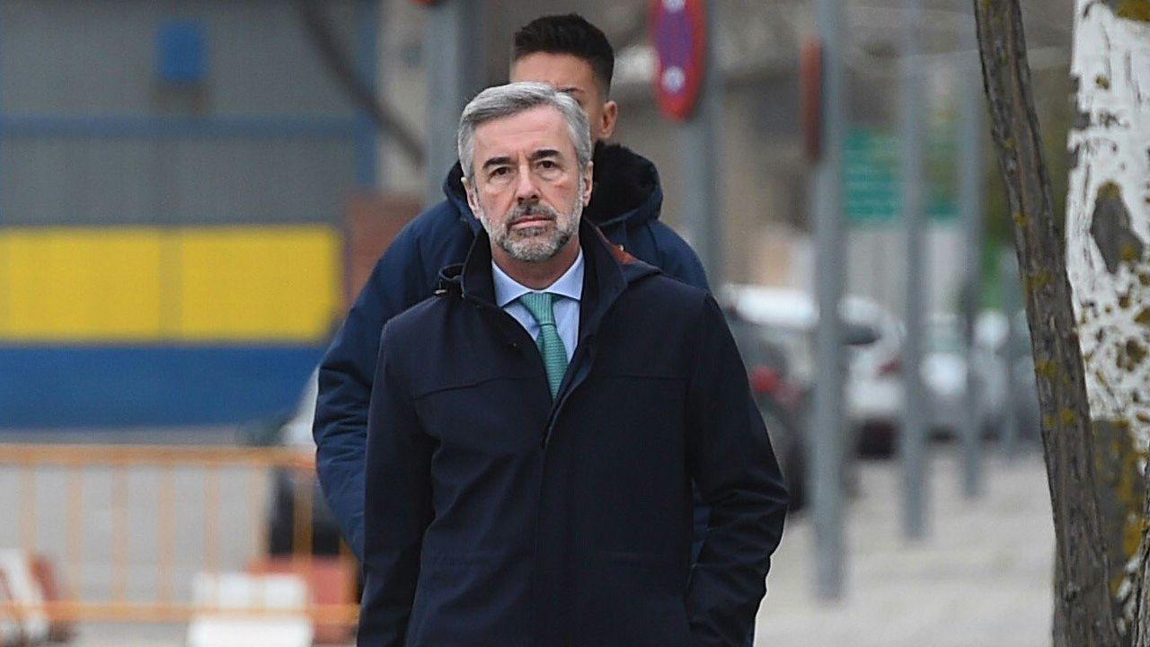 Francisco González sobre Rato: «Le dije que lo mejor era que dimitiera».Instalaciones de GAM