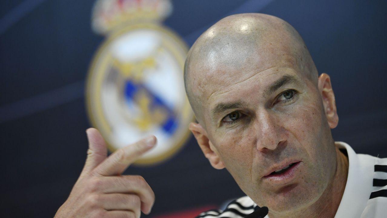 Las mejores imágenes del Real Madrid - Celta.Alberto Suárez Laso