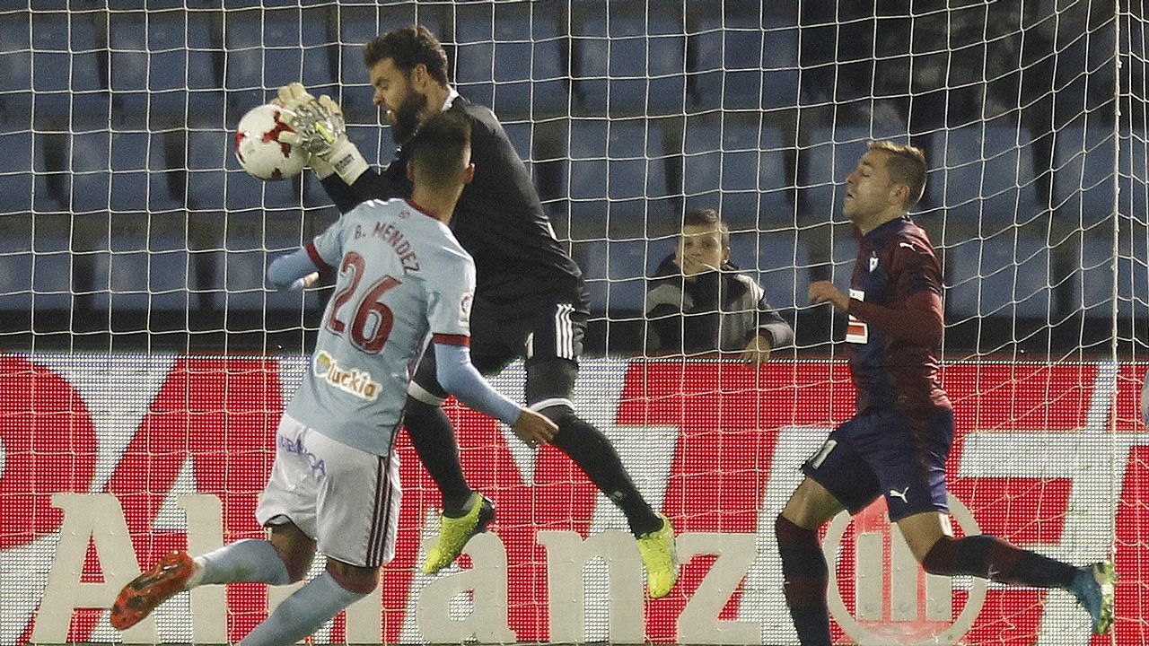 Celta 1 - Eibar 0 (28 de noviembre)