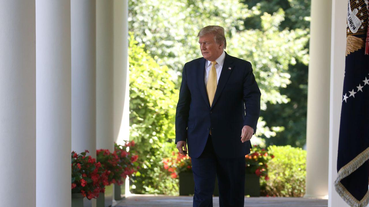 El presidente estadounidense, ayer en un evento para pequeñas empresas en la Casa Blanca