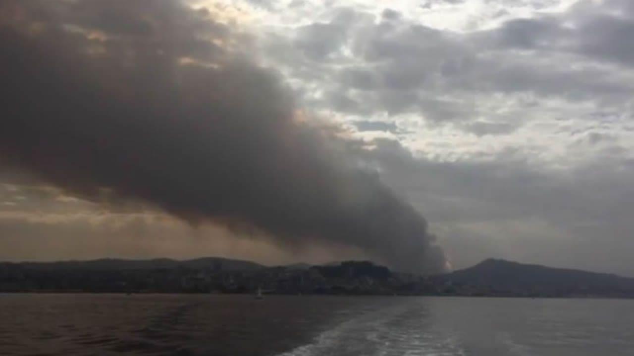 Desalojo de viviendas por los incendios en Vigo y su entorno