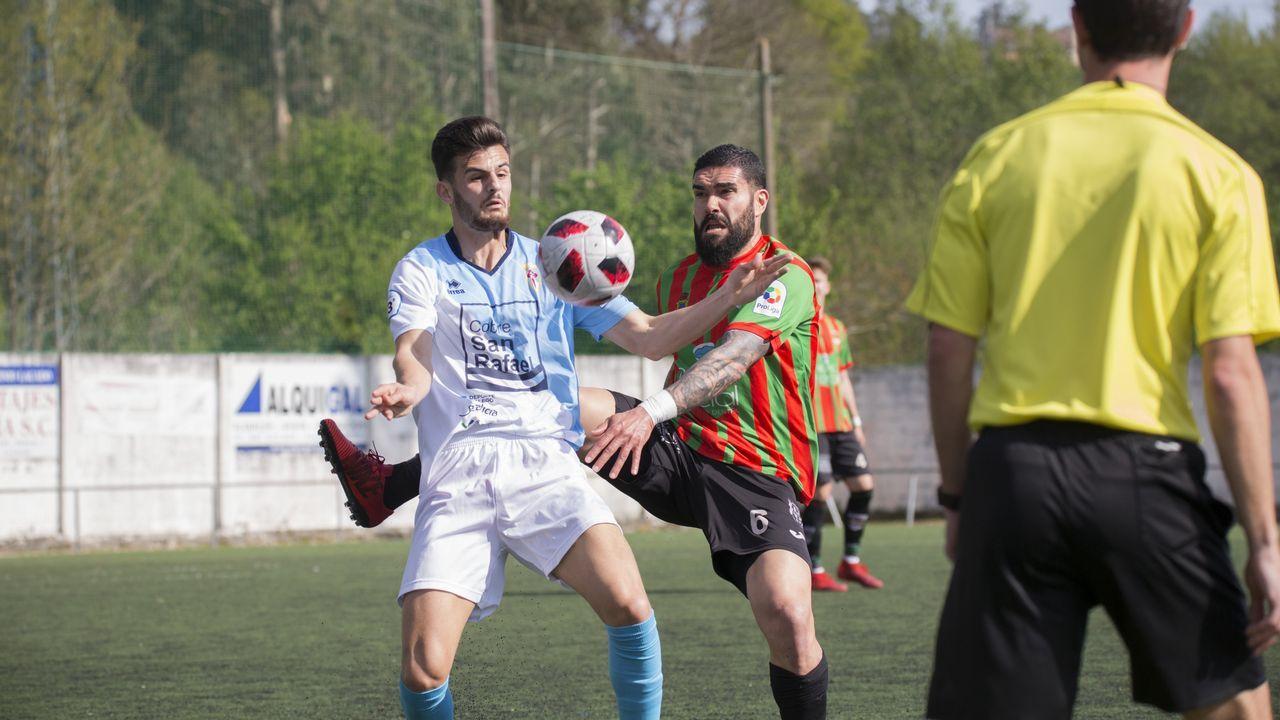 Repasa en imágenes el Laracha-Compostela: 5-1
