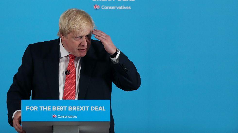 El responsable de Exteriores británico, Boris Johnson