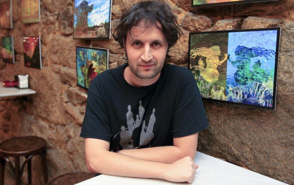 Semana cultural del Número Un.Seijas dice que cualquier trabajo relacionado con Cervantes abre el «apetito creativo». foto josé Pardo