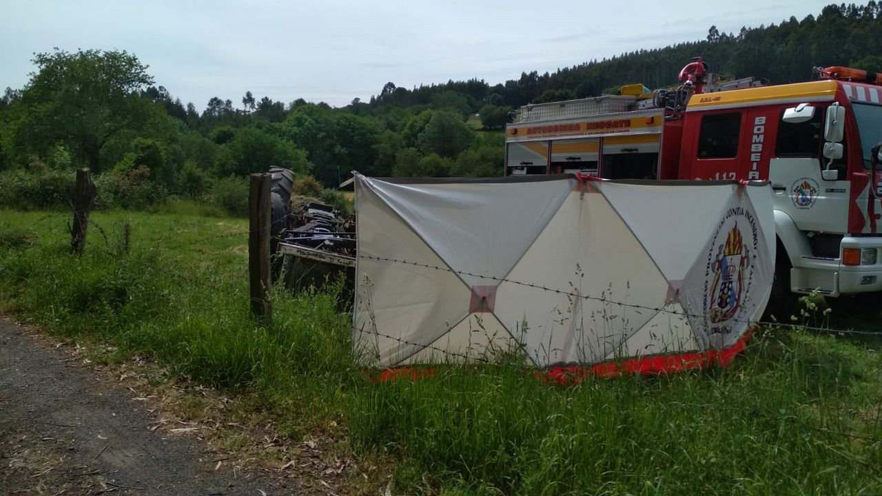 En directo en Toques: «Los detenidos vivían a 400 metros del asesinado».El vehículo de la víctima apareció calcinado en una pista forestal de la parroquia de Capela