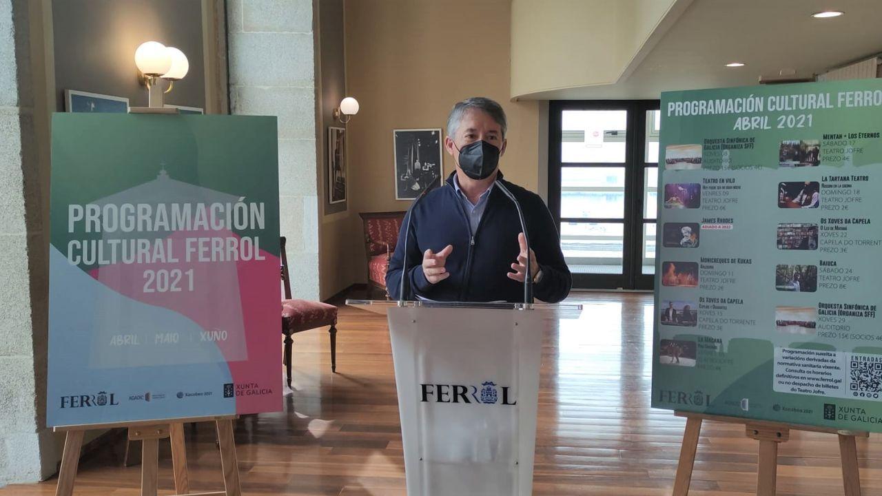 Danny Boy-Rivera ofrecerá un monólogo el sábado en el Auditorio de Vilalba
