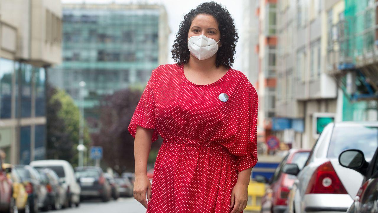 Noelia rematou a carreira de enfermaría no ano 2011